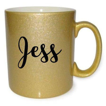 Custom Name Gold Mug - Quote My Gift