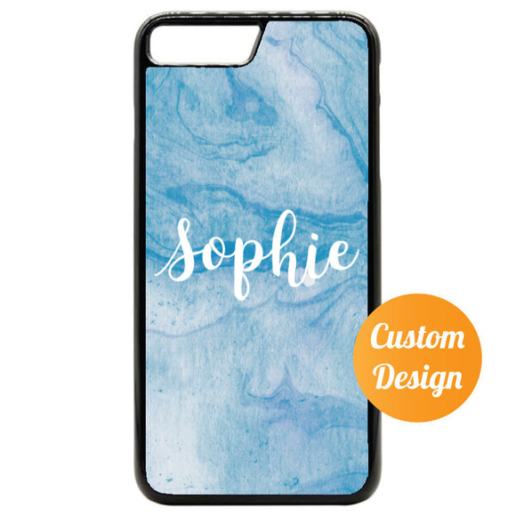 Blue Marble Custom iPhone 7/8 Case - Quote My Gift
