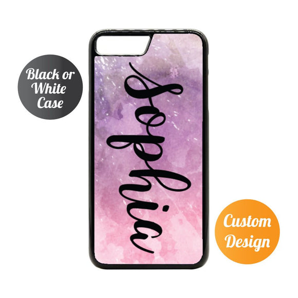 Pink Marble Custom iPhone 7/8 Case - Quote My Gift