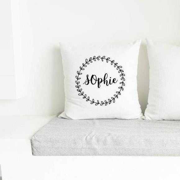 Custom Name White Pillow Case - Quote My Gift