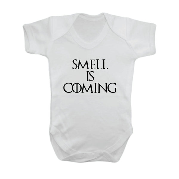 Smell Is Coming Funny GOT Baby Grow - Quote My Gift