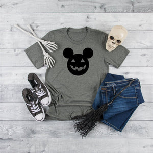 Mickey Ears Disney Halloween Womens Tee - Quote My Gift