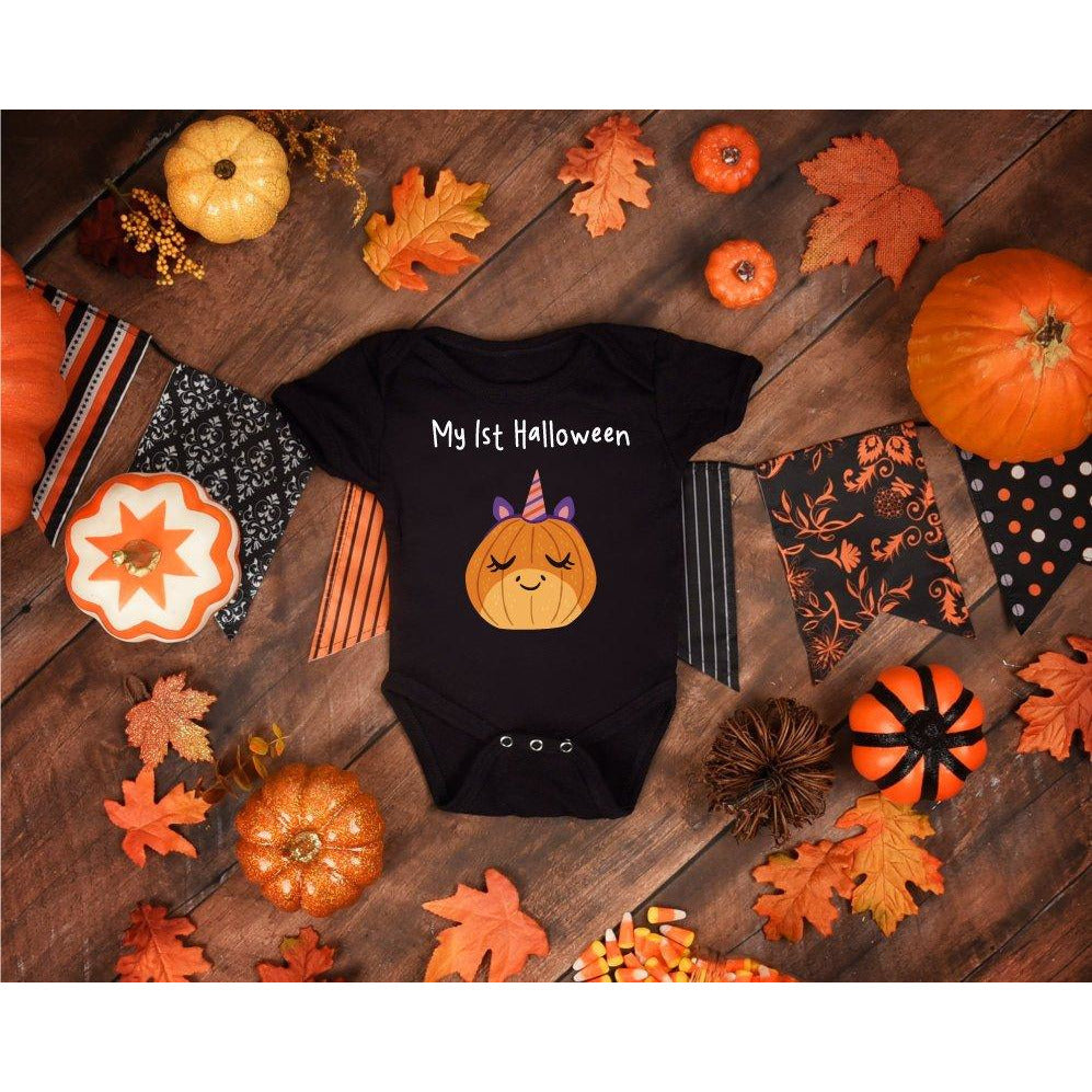 fd4964ba5 My First Halloween Baby Suit - Black – Quote My Gift