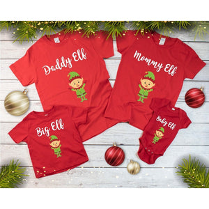 Matching Family Christmas T-Shirts - Quote My Gift