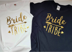 Women's Bride Tribe T Shirts - Quote My Gift