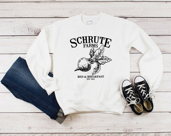 Schrute Farms Sweater - Quote My Gift