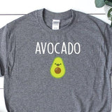 Women's Grey Avocado TShirt - Quote My Gift