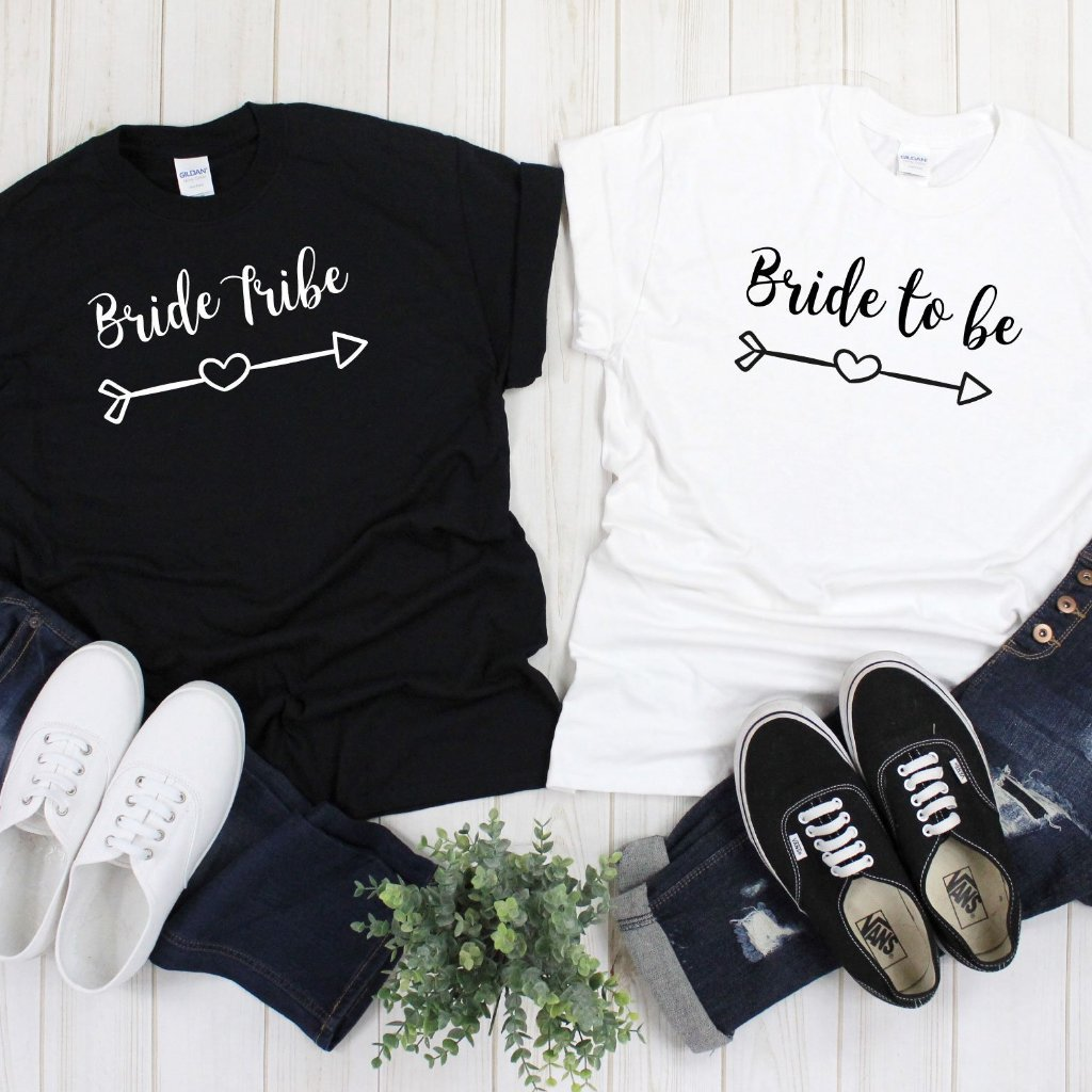 Custom Bridal Wedding T-Shirts - Quote My Gift
