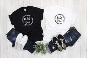 Mild One Wild One Funny Best Friend Shirts - Quote My Gift
