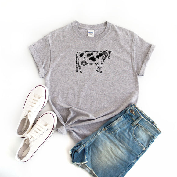 Women's Cow T-Shirt - Quote My Gift