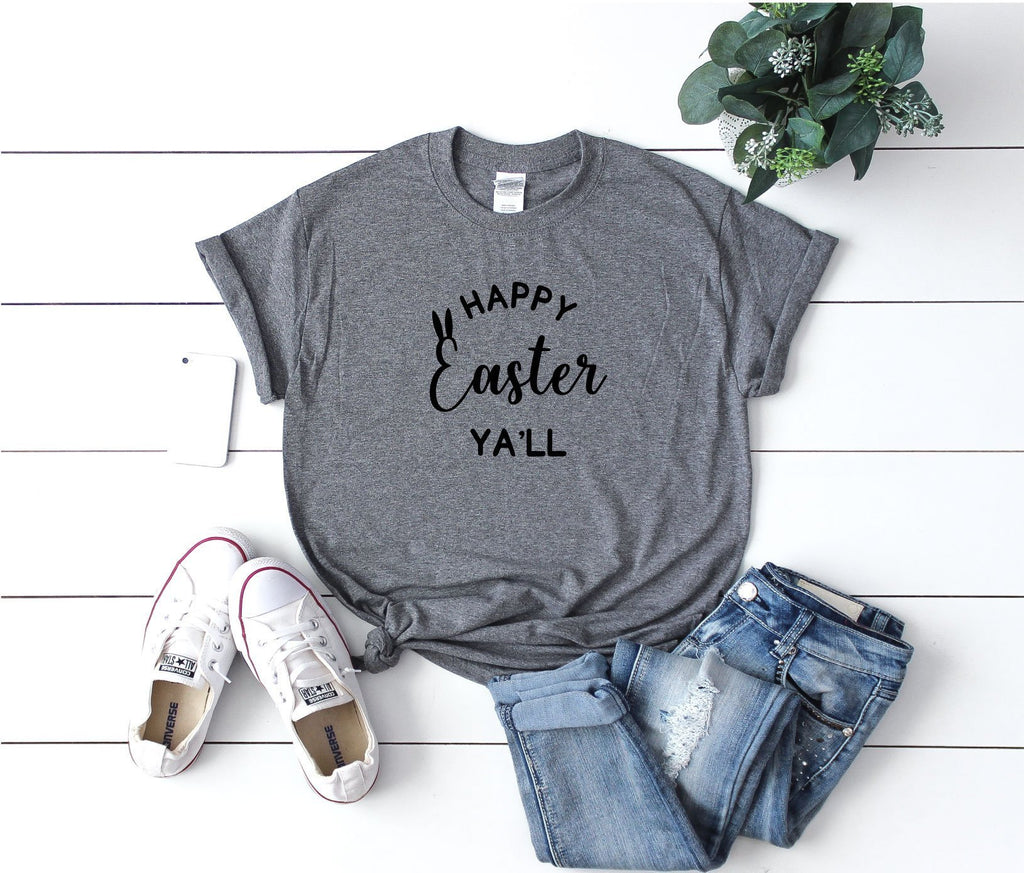 Happy Easter Ya'll T-Shirt - Quote My Gift