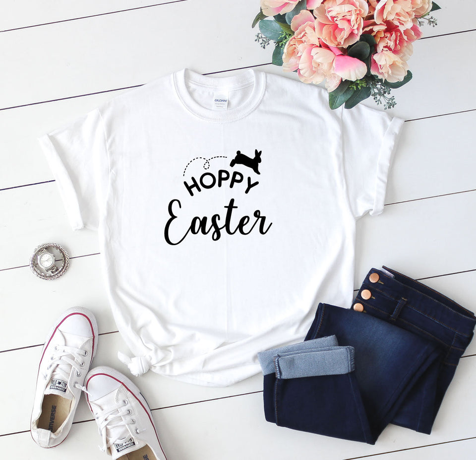 Funny Easter Shirt, Unisex Easter T-Shirt, Easter Gifts, Bunny T-Shirt, Easter Bunny Shirt, Gifts For Easter, Animal T-Shirt, Happy Easter - Quote My Gift