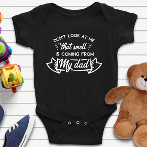 Funny Smeel Quote Baby Grow Onesie - Quote My Gift