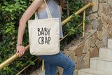 Baby Crap Funny Tote Bag Quote - Quote My Gift