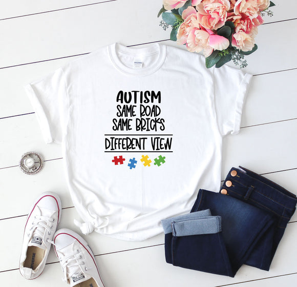 Autism T-Shirt Quote - Quote My Gift