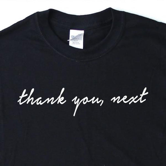 Ariana Grande Thank U Next T-Shirt - Quote My Gift