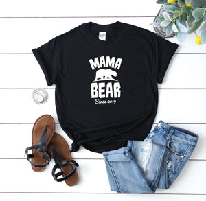 Personalised Mama Bear Shirt - Quote My Gift
