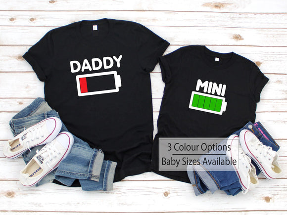 Dad And Mini Child Matching Shirts - Quote My Gift
