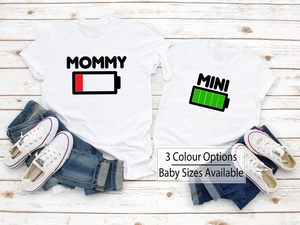 Momy & Mini Funny MAtching T-Shirts - Quote My Gift