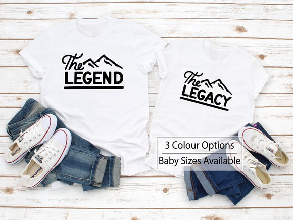 Matching Legend Legacy T-Shirts - Quote My Gift