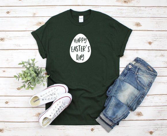 Easter Egg Happy Easter T-Shirt - Quote My Gift