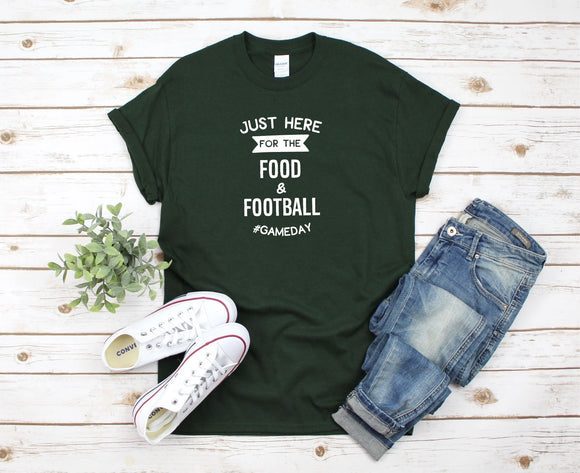 Football Game Day T-Shirt - Quote My Gift