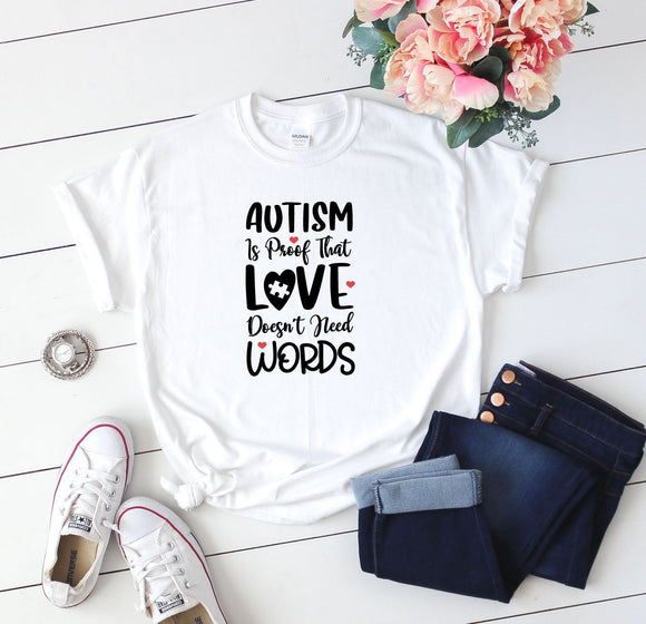 Autism Awareness T-Shirt - Quote My Gift