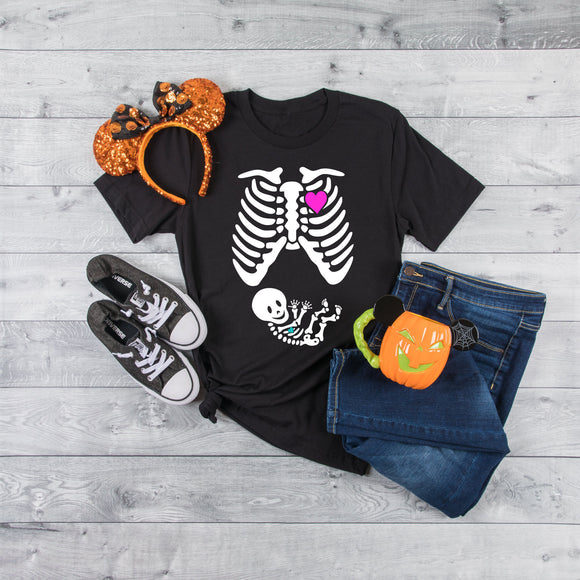 Halloween Pregnancy T-Shirt - Quote My Gift