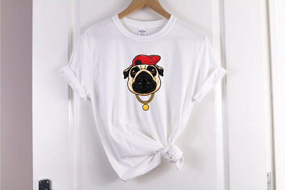 Funny Pug Life T-Shirt - Quote My Gift