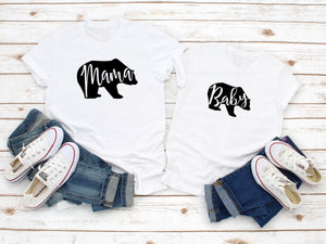 Mama Bear Baby Bear Shirts, Mommy And Me Outfits, Mummy And ME Outfits, Mom And Daughter Shirts, Father And Son Shirts, Family Shirts - Quote My Gift