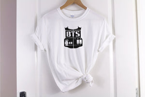 BTS Logo T-Shirt - Quote My Gift