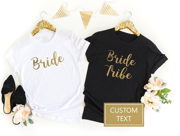 Squad Goals Custom Hen Do Shirts - Quote My Gift