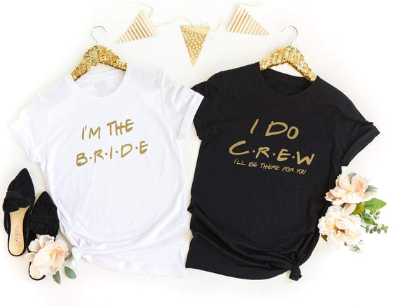 Friends Hen Do T-Shirts - Quote My Gift