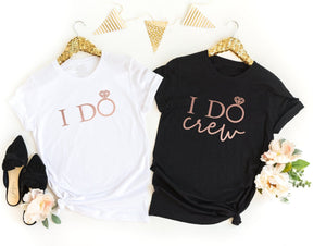 I Do Crew Hen Do T-Shirts - Quote My Gift