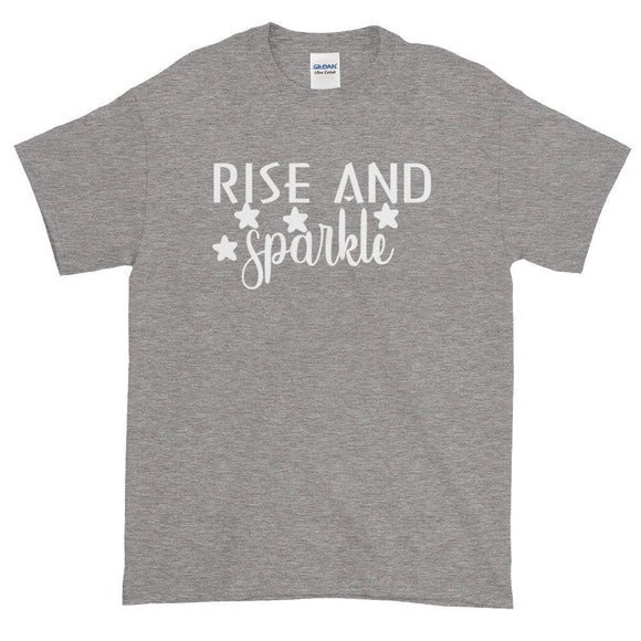 Rise And Sparkle Women's T-Shirt Quote - Quote My Gift