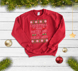 Rebekah Vardy Funny Christmas Sweatshirt - Quote My Gift
