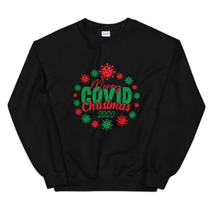 Merry Covid Christmas Ugly Christmas Sweater Sweatshirt Jumper Unisex Christmas Couples Sweaters