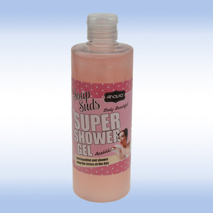 Super Shower Gel 500ml - Soap Suds Anovia