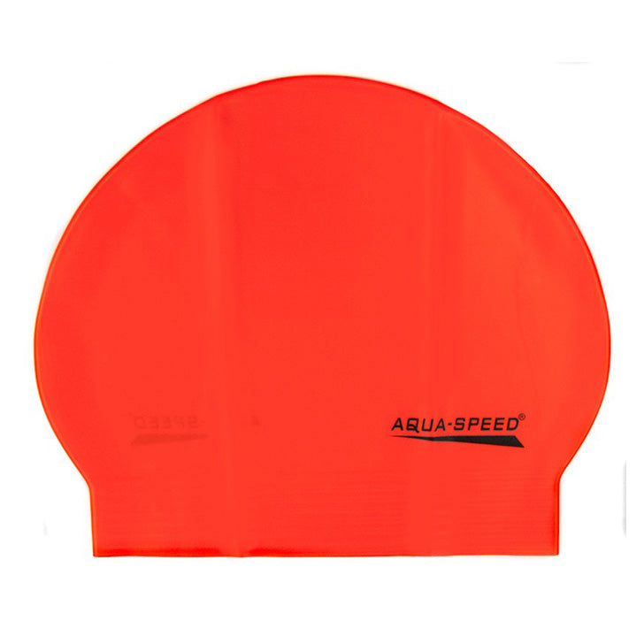 Image of   Aqua-Speed latex badehætte (orange)