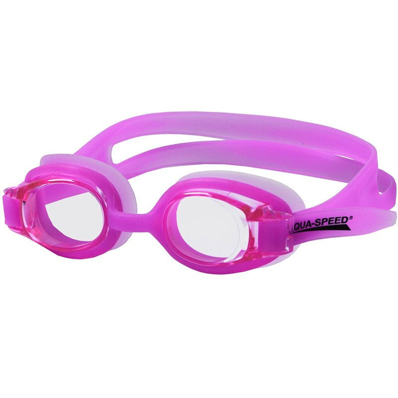 Image of   Aqua-Speed svømmebrille - Atos Junior (lyslilla)