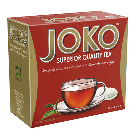 Joko Tea - Strong Quality Tagless Tea Bags (Pack of 100 Bags) 250g