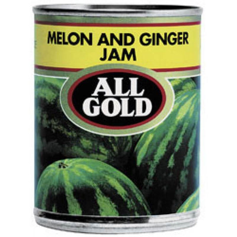 All Gold Jam - Melon Jam with Ginger Flavor (Kosher) 450g - African Hut