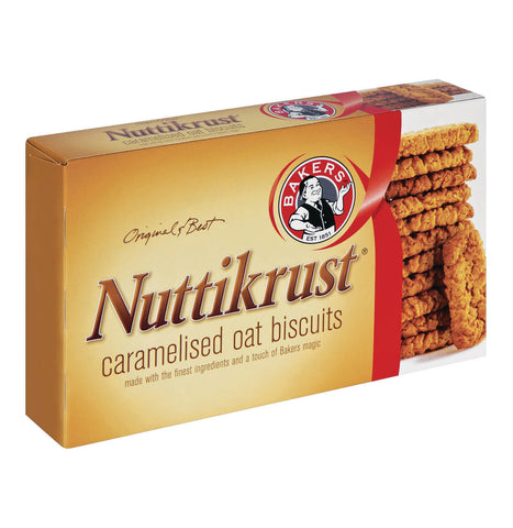 Bakers Nuttikrust - Original Biscuits (Kosher) 200g