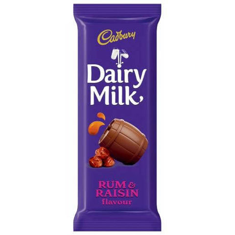 Cadbury Dairy Milk Rum and Raisin 80g