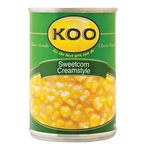 Koo Corn - Sweetcorn Cream Style (Kosher) 415g - African Hut