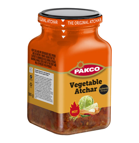 Pakco Vegetable Atchar Hot 385g