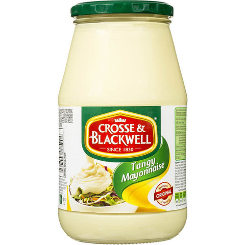 Crosse and Blackwell Mayonnaise (LIMIT 1 PER ORDER) 750g