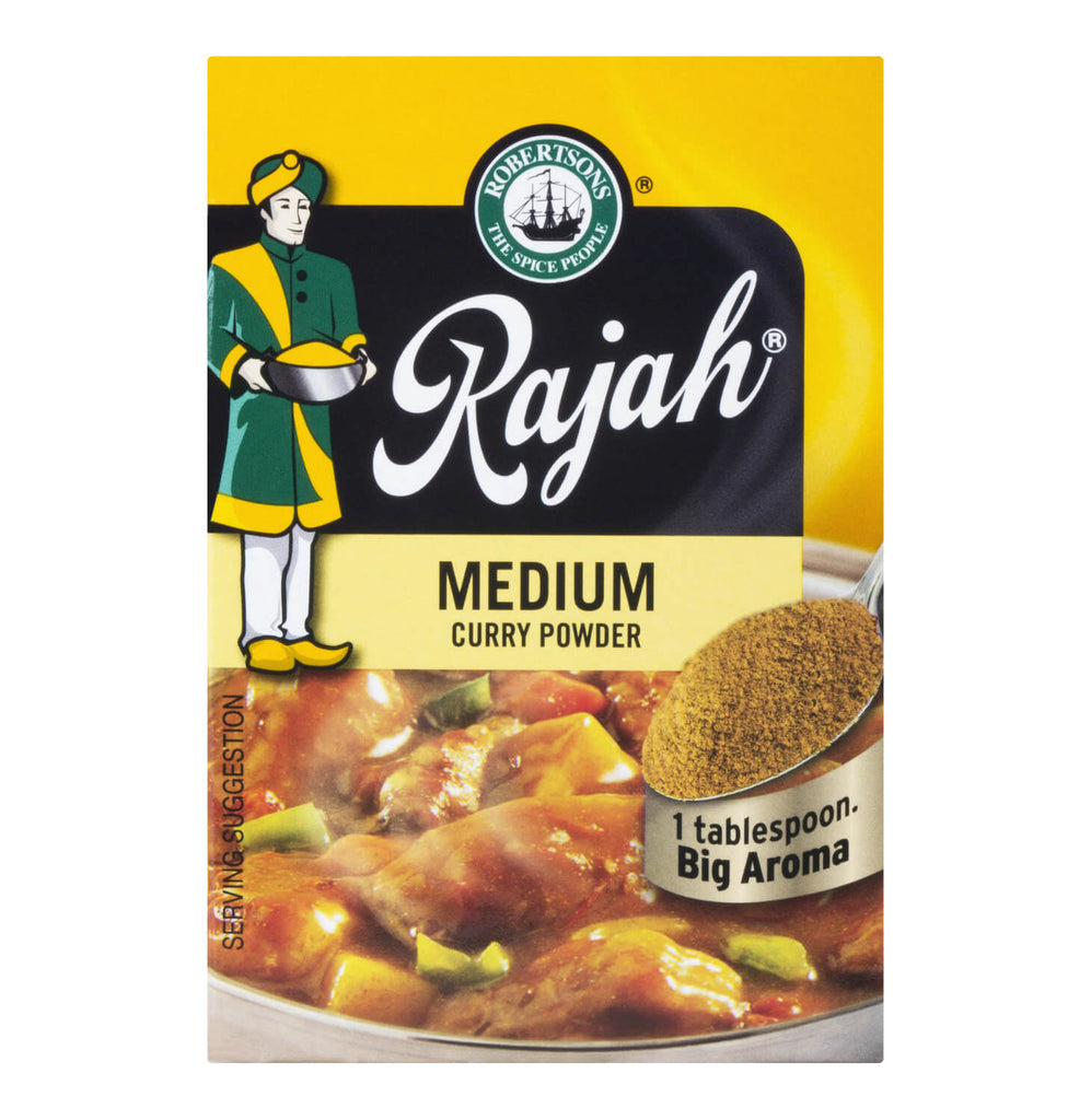 Robertsons Rajah Curry Powder - Medium  100g