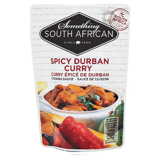 Something South African Cooking Sauce - Spicy Durban Curry  400g - African Hut