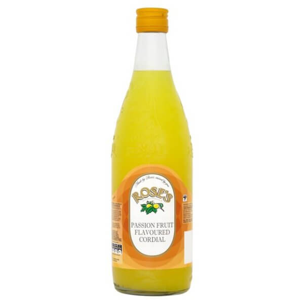 Roses Cordial - Passion Fruit (LIMIT 2 PER ORDER) 750ml